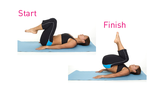 reverse crunch exercise for ads