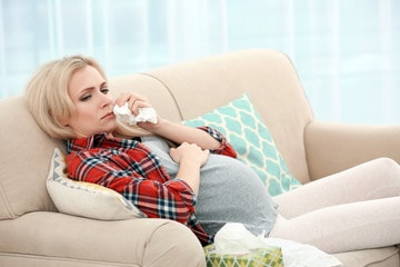 sitting posture on sofa during pregnancy