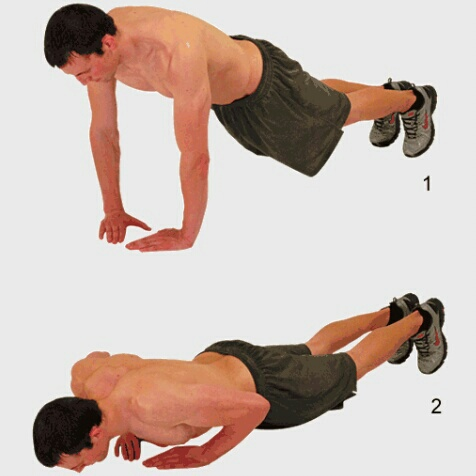 triceps pushups