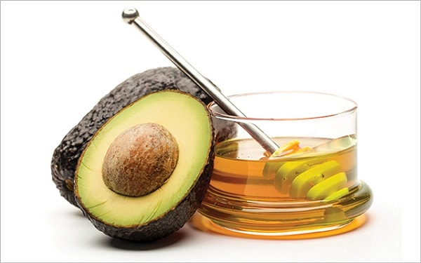 avocado & honey face mask