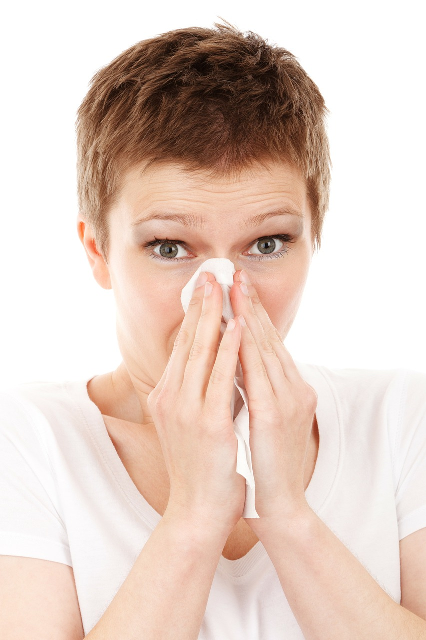 wet wipes to get rid of dry nose