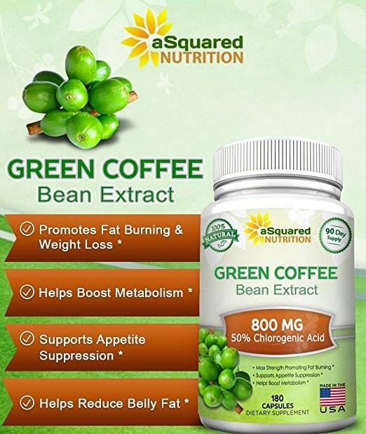 Green Coffee Bean Extracts Capsule