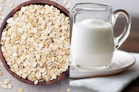 Oats with buttermilk