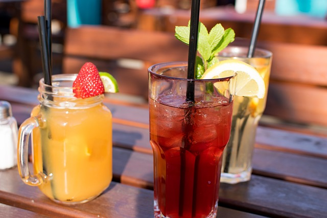 strawberry, lemon & mint