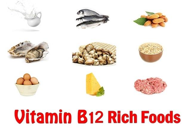 vitamin b12 abundant foods